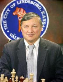 World  Chess Champion Anatoly Karpov