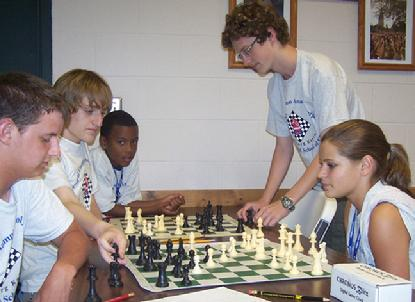 Bughouse chess at Karpov chess camp