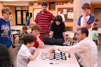 Grandmaster Var Akobian chess camp