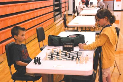 chess students  U.S. Junior Open Chess