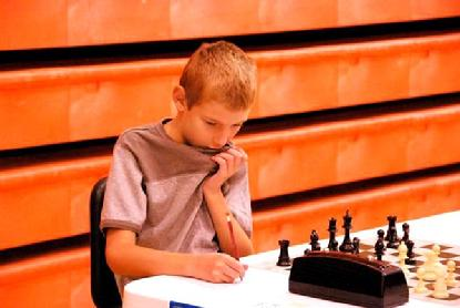 Karpov Chess School kid
