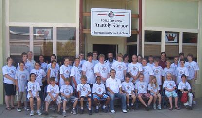 Anatoly Karpov Chess Camp 2009