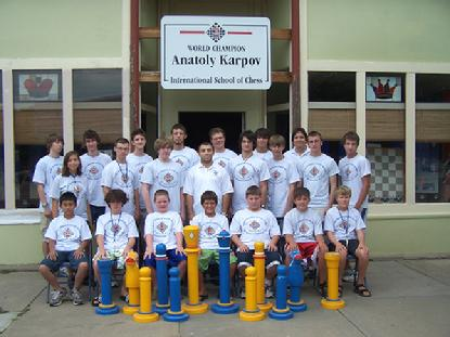 Karpov Chess Camp II with Giant Swedish Chess Set