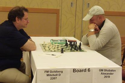 Mitchell Goldberg, Alexander Shabalov, U.S. Open Chess