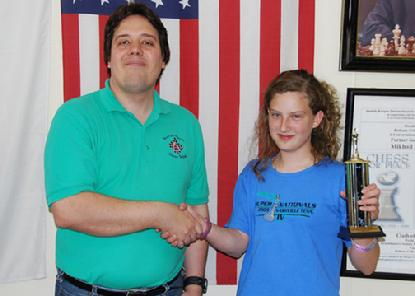 Hannah Purdy, Kansas State Girl's Chess Champion