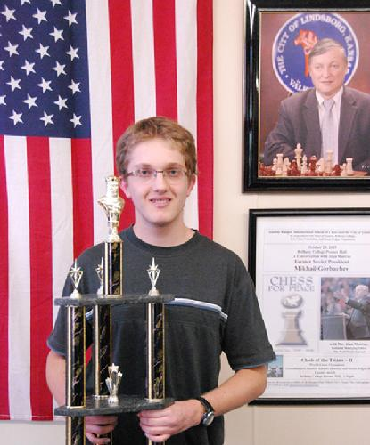 Tyler B. Hughes Winner 2008 Junior Chess Championship at Karov School