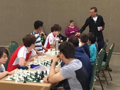 Timur Gareyev, Blindfold chess, chess camps