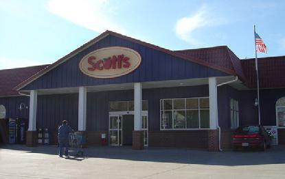 Scott's Thriftway Swedish foods Lutfisk Lindsborg