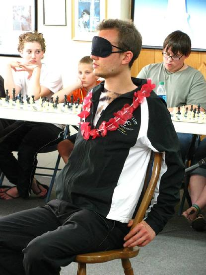 Timur Gareyev, Blindfold chess