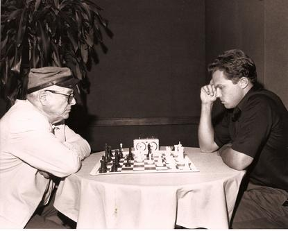 Windom playing Adam Baldwin, Los Angeles, 1988 - Anatoly Karpov Chess School image
